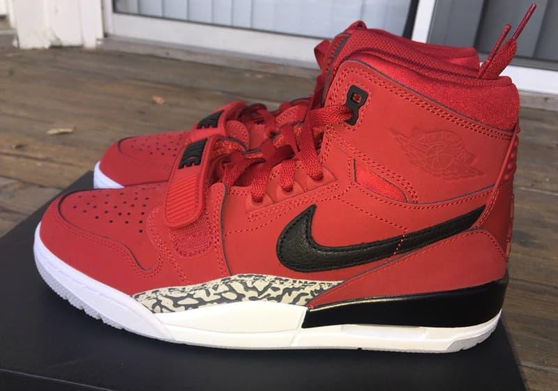 Jordan Legacy 312 Toro October Red sneaker Michael Jordan Nike Jordan Brand