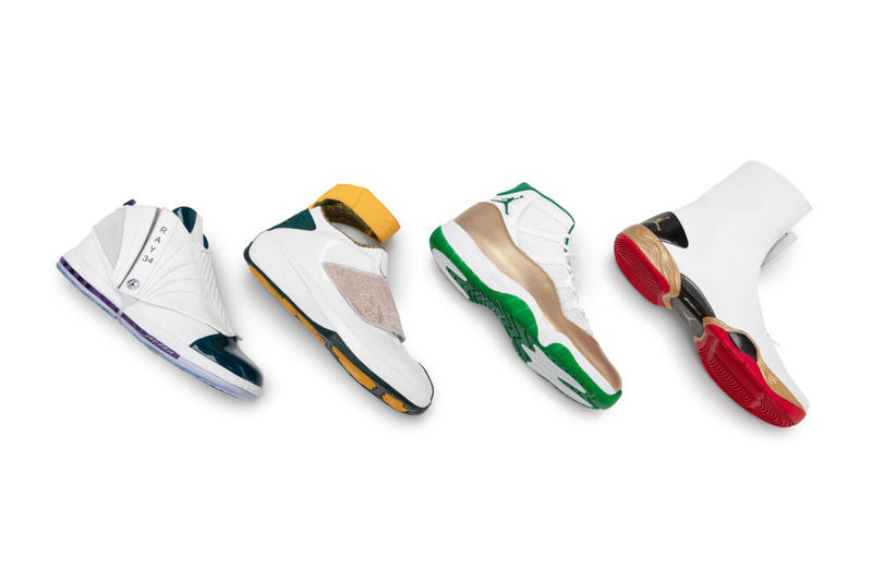 best website 43679 27153 Jordan Honors Ray Allen's Hall of Fame Induction With 4 PE ...