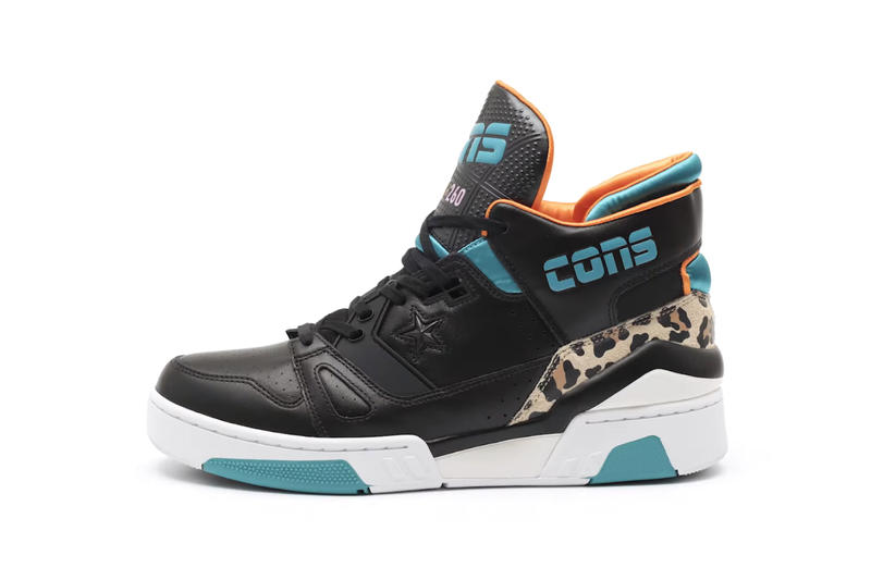 Just Don Converse ERX 260 Release Date sneaker basketball pony hair leopard C Collection