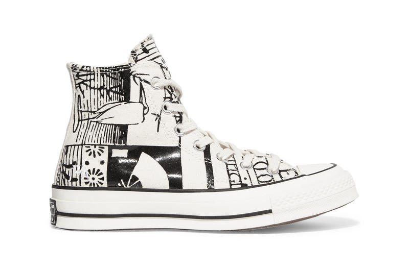 jw anderson converse chuck taylor all star high Net-A-Porter exclusive graphic colorway design womens model buy sell purchase