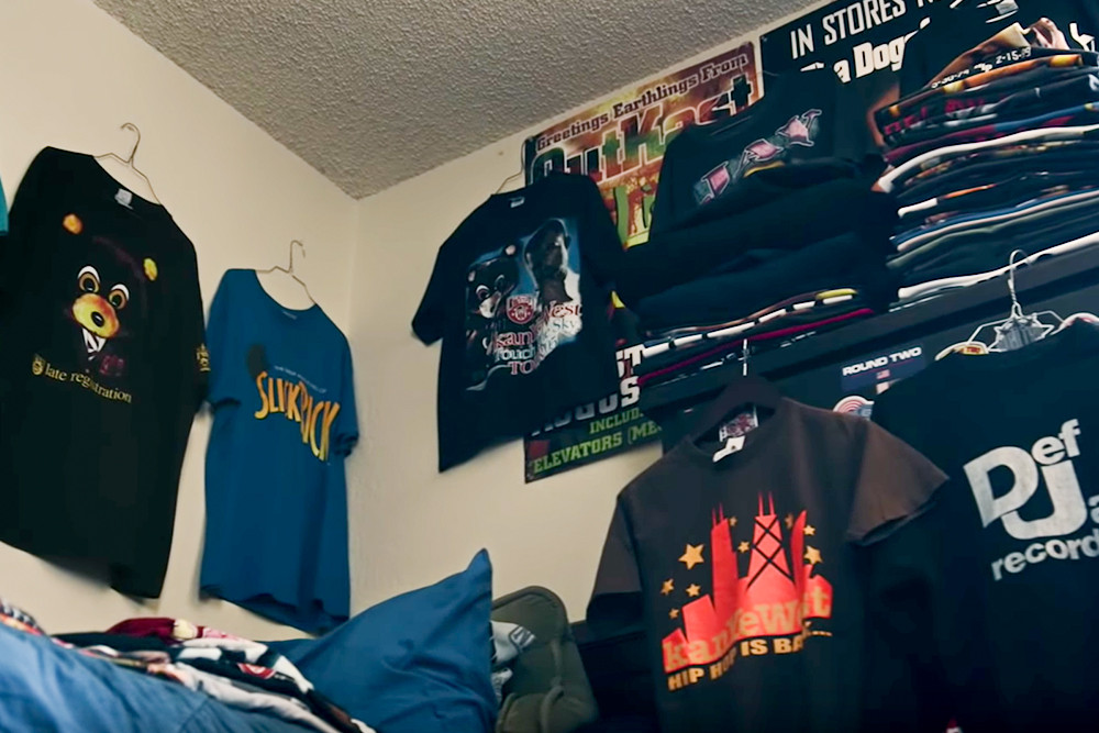 """This Kanye West Super Fan Is Selling """"The Greatest Merch Collection of All-Time"""""""