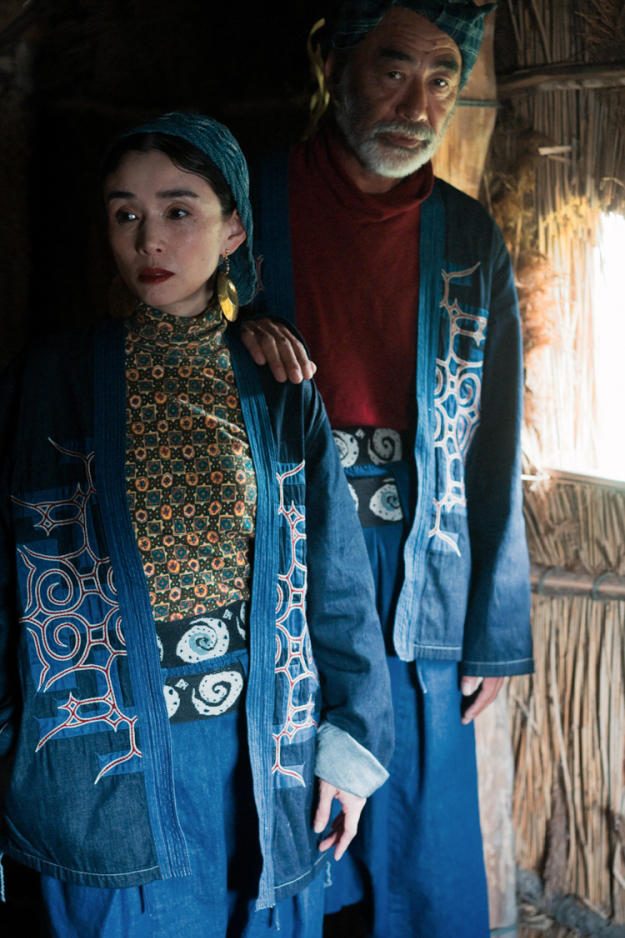 KAPITAL KOUNTRY CHIP SANKE Ainu Project Lookbook eric kvatek denim boro patchwork indigo nibutani culture museum traditional fall winter 2018 remake japan release date month september 2018 buy sell sale ceremony jeans denim