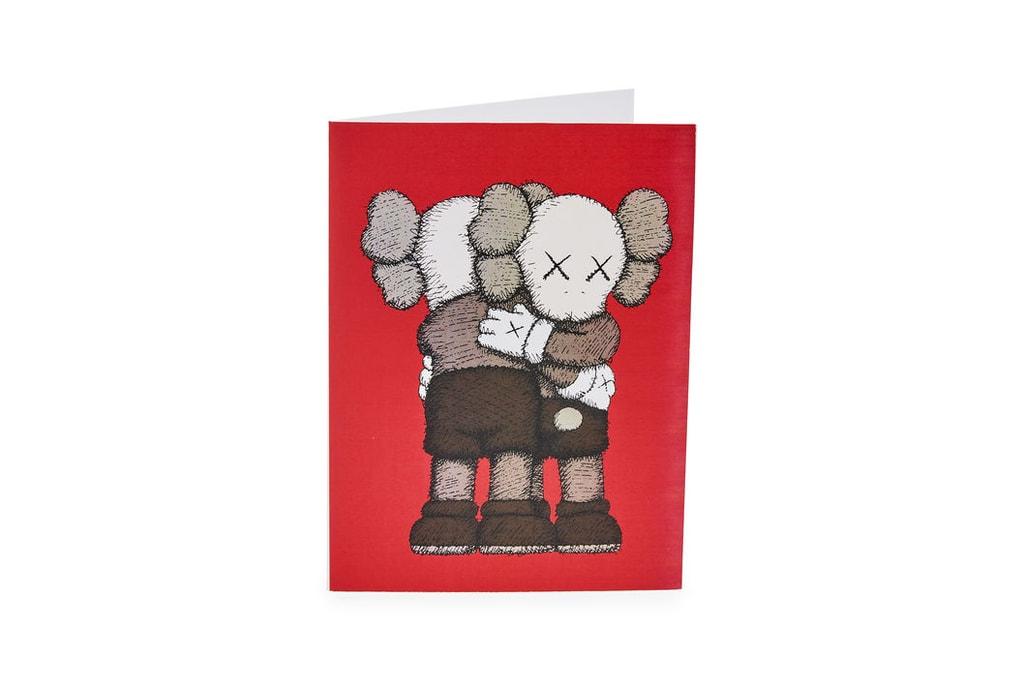 KAWS x MoMA \'TOGETHER\' 2018 Holiday Card | HYPEBEAST