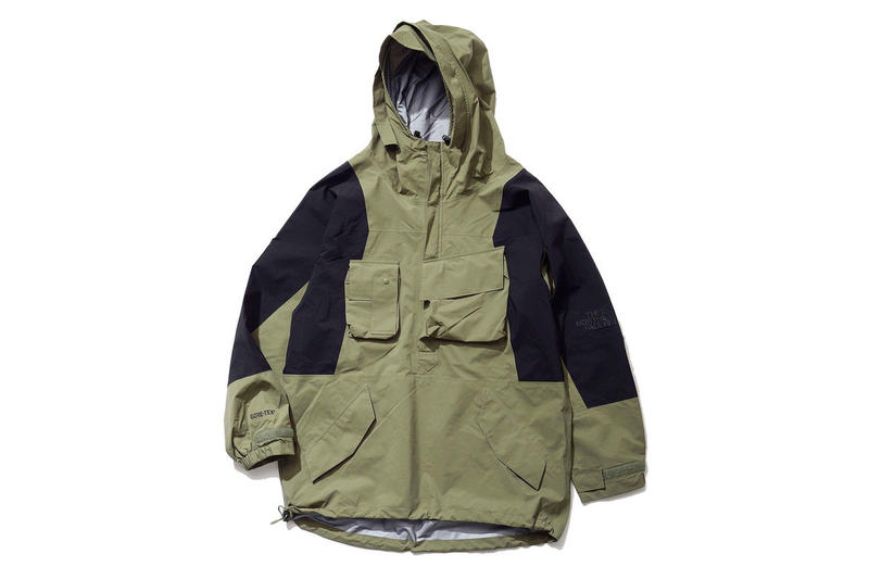 Kazuki Kuraishi The North Face Black Series Gore-Tex Outerwear Khaki Beige Navy japan release date info drop buy purchase sell september 10 2018 urban exploration series gore tex