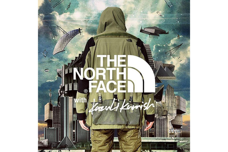 Kazuki Kuraishi for The North Face Black Series Khaki Jacket Quilted Pants Technical Announcement Teaser IG Photo