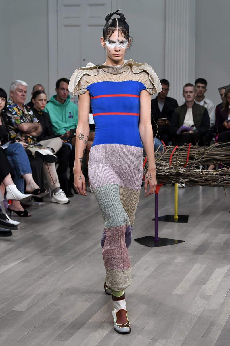 Kiko Kostadinov spring summer 2019 runway presentation show womenswear london fashion week Laura Deanna Fanning showcase
