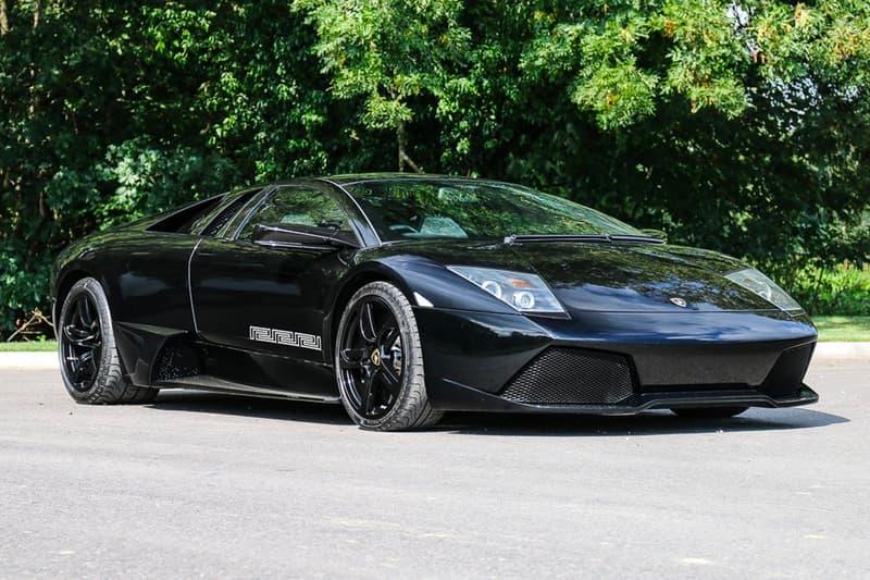 Lamborghini Murcielago Versace Edition History Hypebeast