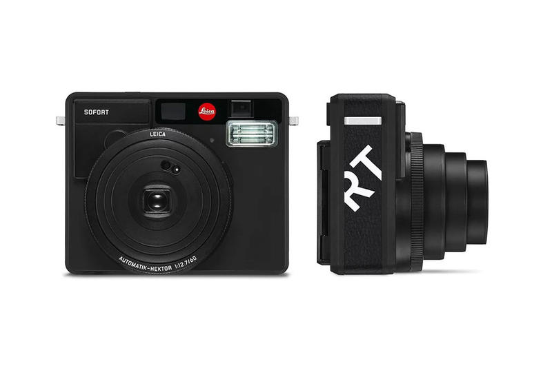 leica sofort instant camera matte black devices technology film