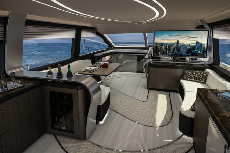 Lexus First Luxury Yacht LY 650 ship boat vessel marquis larson group 2019 2018 september