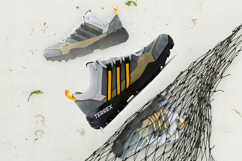 livestock adidas consortium ultra tech gtx terrex skychaser release date  yellow black grey sneaker price a22477cf2