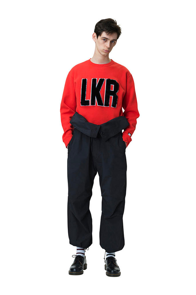 LUKER by NEIGHBORHOOD Fall Winter 2018 collection Lookbook jackets sweaters accessories hats pants