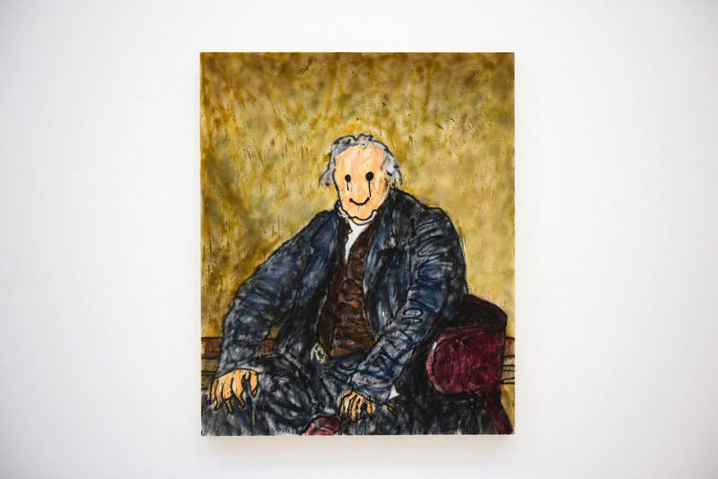 MADSAKI French Fries with Mayo Galerie Perrotin Paris Exhibition Wannabe Wife Paintings