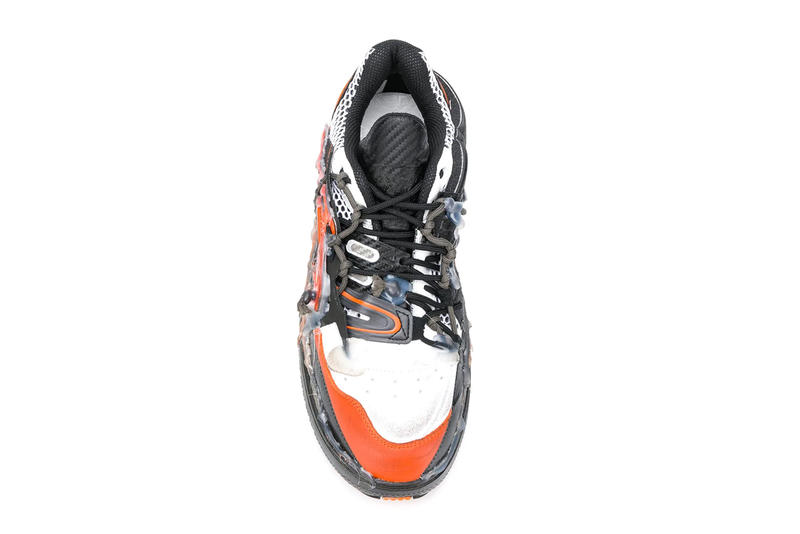 Maison Margiela Fusion Sneaker New Colorways Nero Arancio Bianco Multicolor
