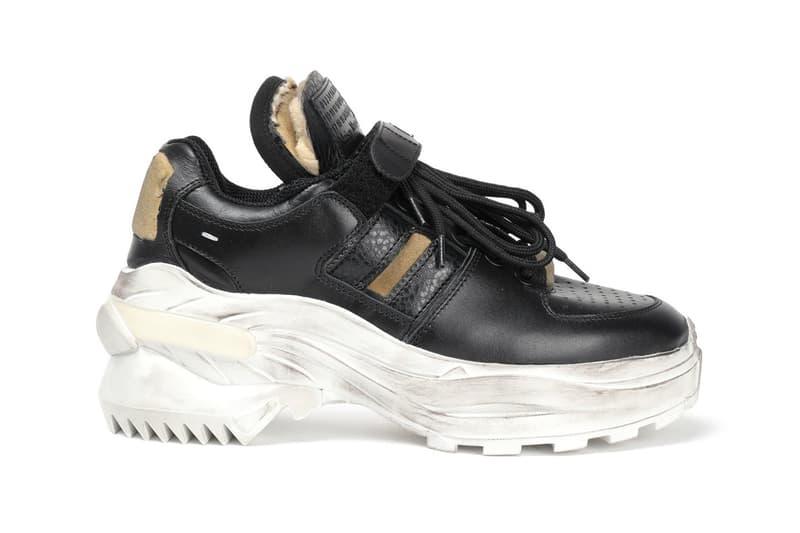 newest 6de53 bd575 Maison Margiela Retro Fit Low Sneaker Release america silver white black  colorways price date info purchase
