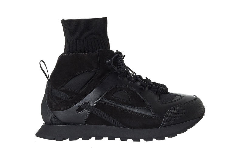 Maison Margiela Sock Neck Security Runner triple black white navy release info sneakers
