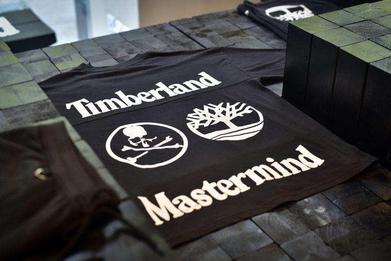 mastermind JAPAN x Timberland Collection Closer Look Cop Purchase Buy Fashion Clothing T-Shirts Boots