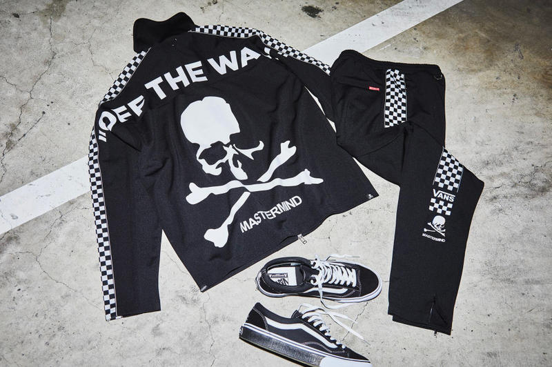 3be8628d0ad7d0 mastermind JAPAN Vans Black White Tracksuit Old Skool V36 OG collaborations  instagram