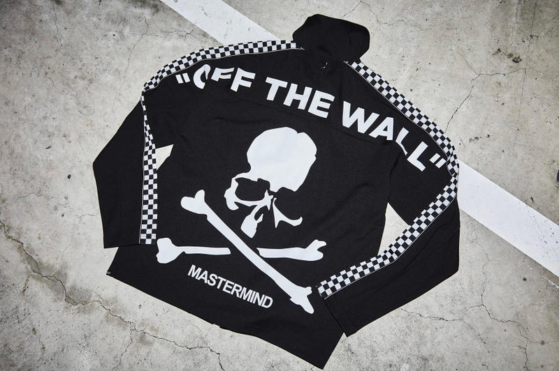 mastermind JAPAN Vans Black White Tracksuit Old Skool V36 OG collaborations instagram