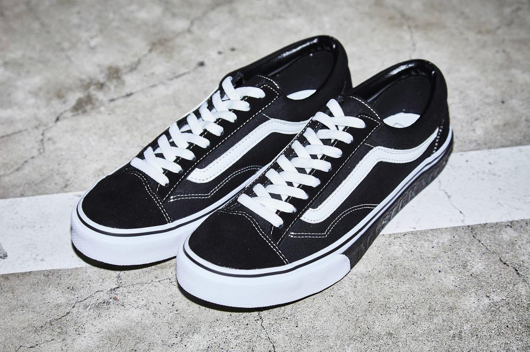 mastermind JAPAN \u0026 Vans Black/White