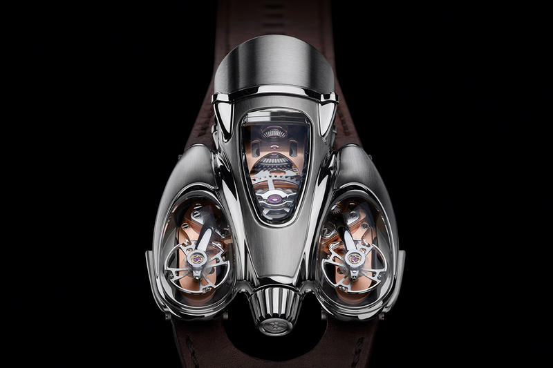 MB&F HM9 Flow Watch release info road air edition rose gold timepiece