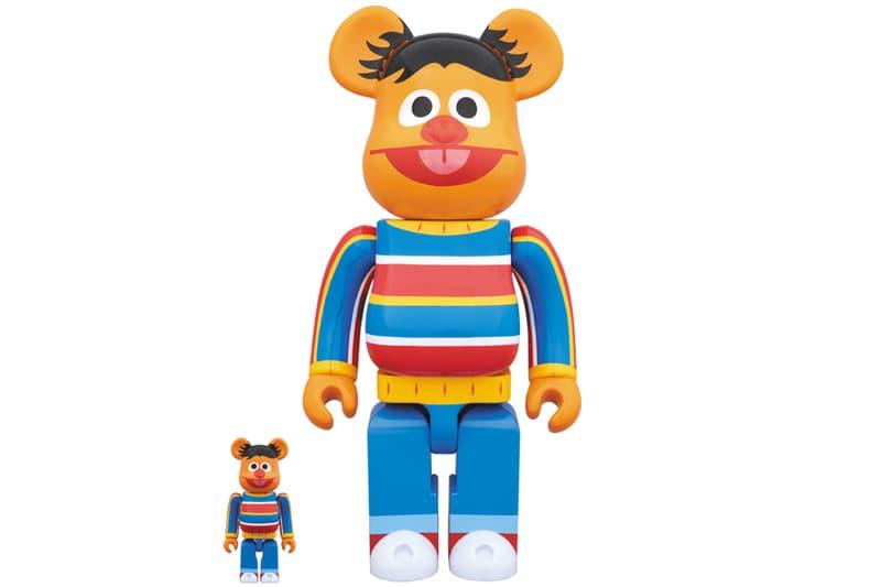 Medicom Toy Sesame Street BE@RBRICKS Bearbricks
