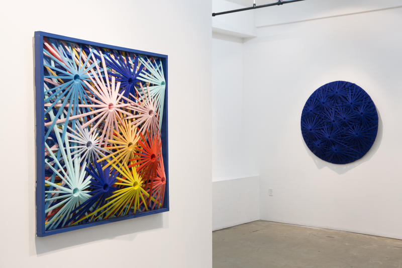 meguru yamaguchi emilio cavillini gr gallery untainted abstraction exhibition shows artworks paintings