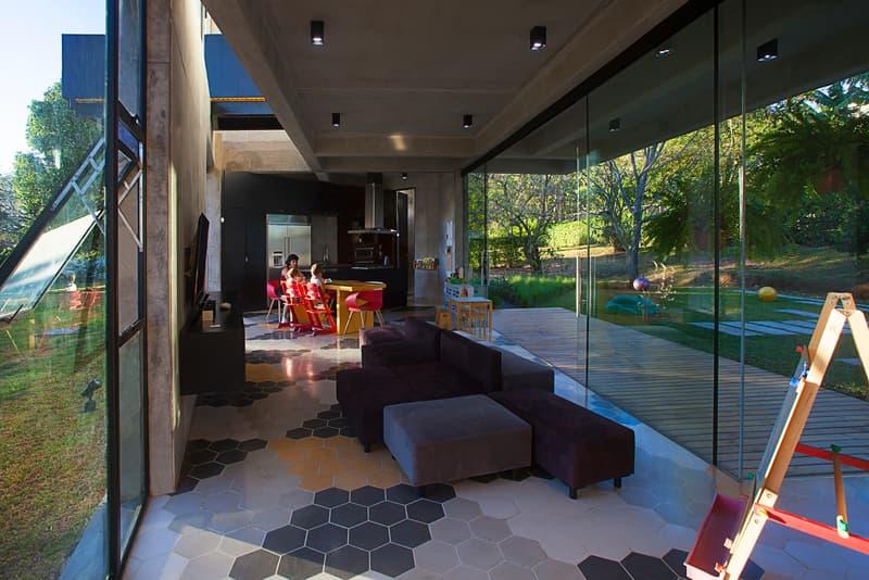 MENARI Residence Ecostudio Architects Alajuela Costa Rica Homes Houses Living Area Modern Sleek Interior Exterior Design