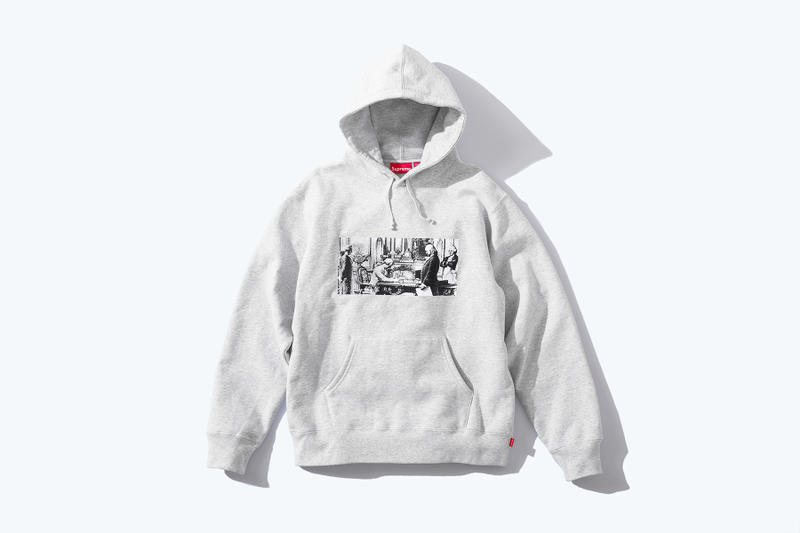 Supreme x Mike Kelley FW18 Release Art Contemporary Art Marcel Duchamp Readymade Michigan Detroit Music Sonic Youth Supreme Collaboration Hoodies Sweatshirts Work Jacket Destroy All Monsters MOMA Dadaists kitsch Conceptual Performance art