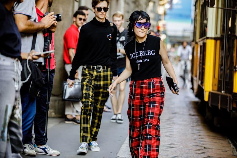 Milan Fashion Week Spring/Summer 2019 Street Style ss19 streetwear sneakers