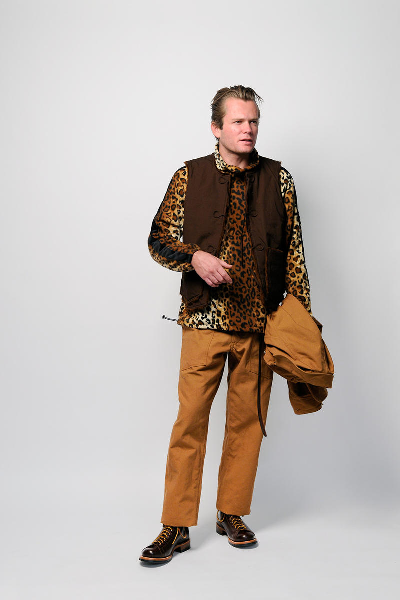 Monitaly Fall/Winter 2018 Collection Lookbook outerwear mens leopard fashion outerwear purchase price Yuki Mastsuda