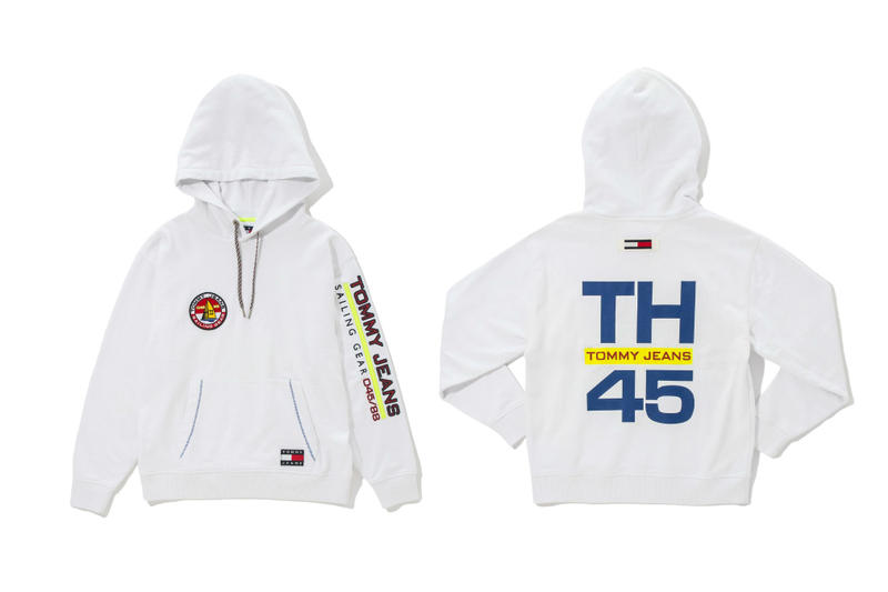monkey time Tommy Hilfiger Sailing Gear Capsule collection Nylon Jacket Track Pants Sweater Hoodie Sweatshirt Jeans
