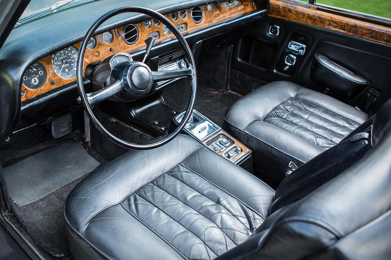 Muhammad Ali Rolls-Royce Convertible silver shadow Auction 1970 car automobile price bid bonhams