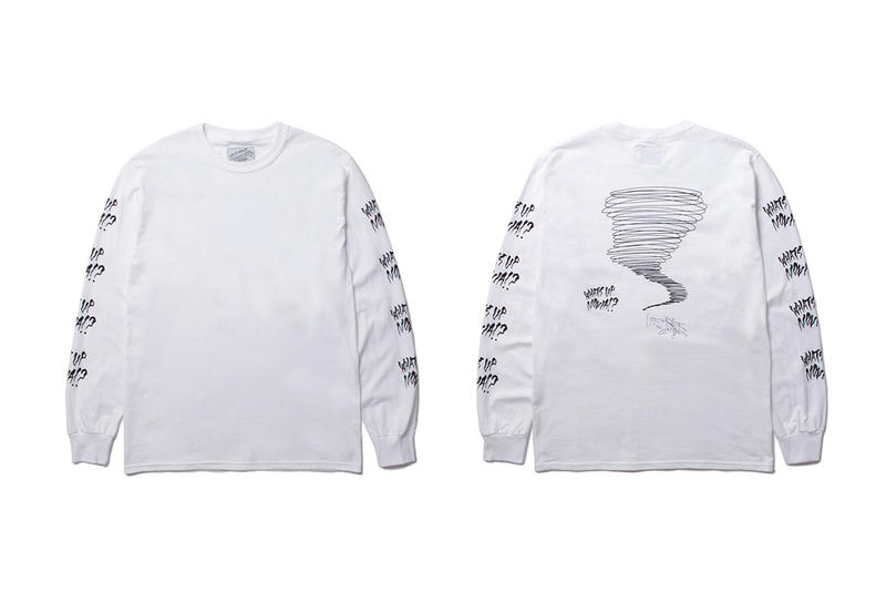 Neckface WACKO MARIA Paradise Tokyo 3 Year Anniversary Capsule short long t shirt hoodies
