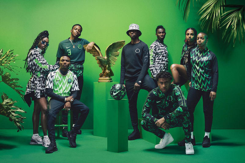 Nigeria 2018 FIFA World Cup Kit Beazley Design Award Football Soccer Sports Kits Green Buy Available