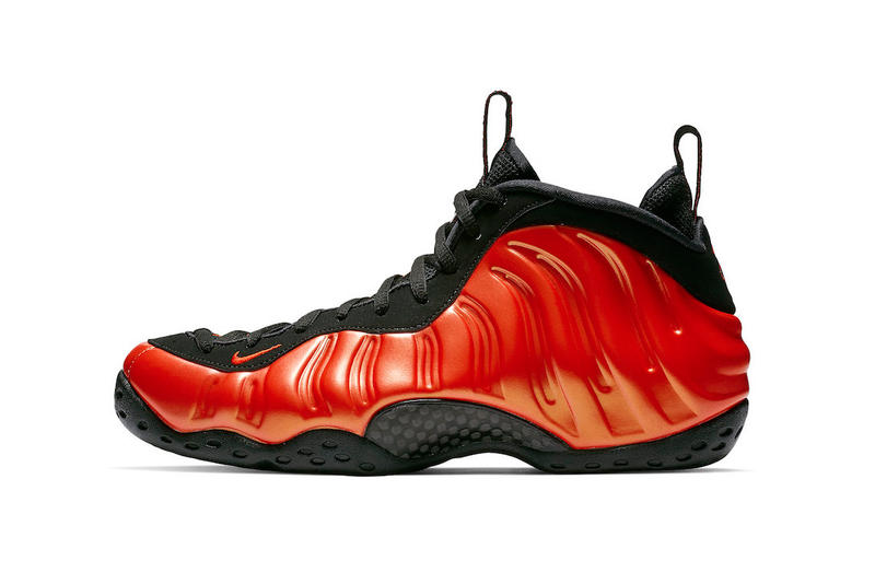 nike air foamposite one habanero red footwear 2018 october footwear nike  basketball nike sportswear