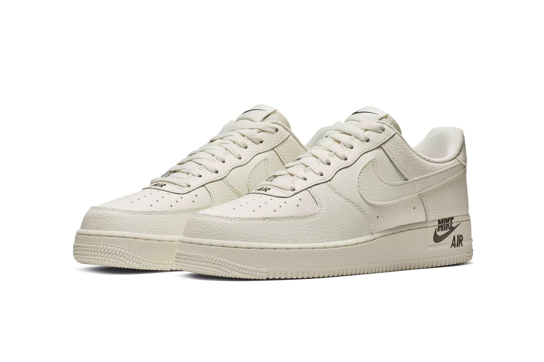Nike's Air Force 1 Shifts its Logos