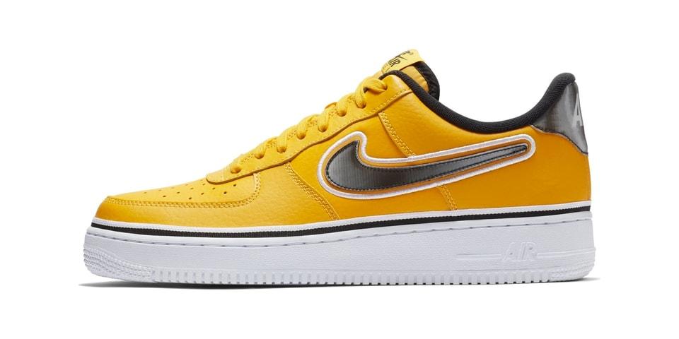buy online c3f90 04231 NBA x Nike Air Force 1 Low Los Angeles Lakers  HYPEBEAST