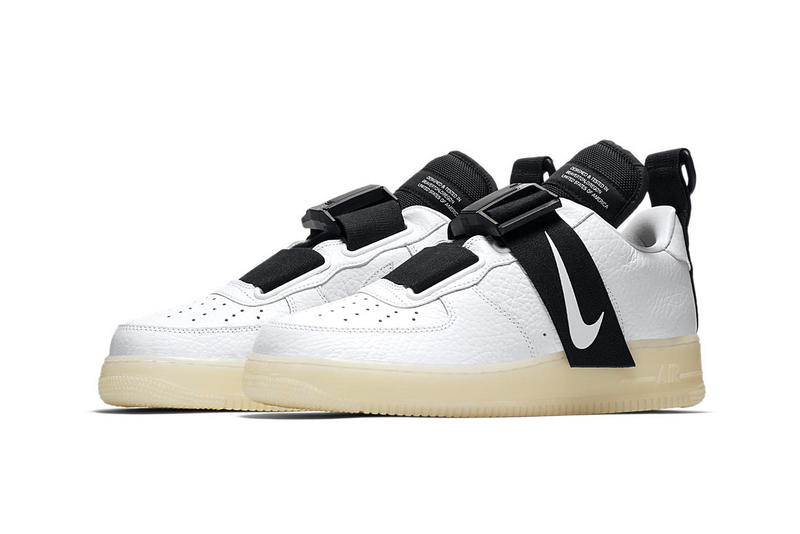 wholesale dealer 642bd 20f5d Nike Air Force 1 Utility QS Glow-in-the-Dark sole sneaker colorway