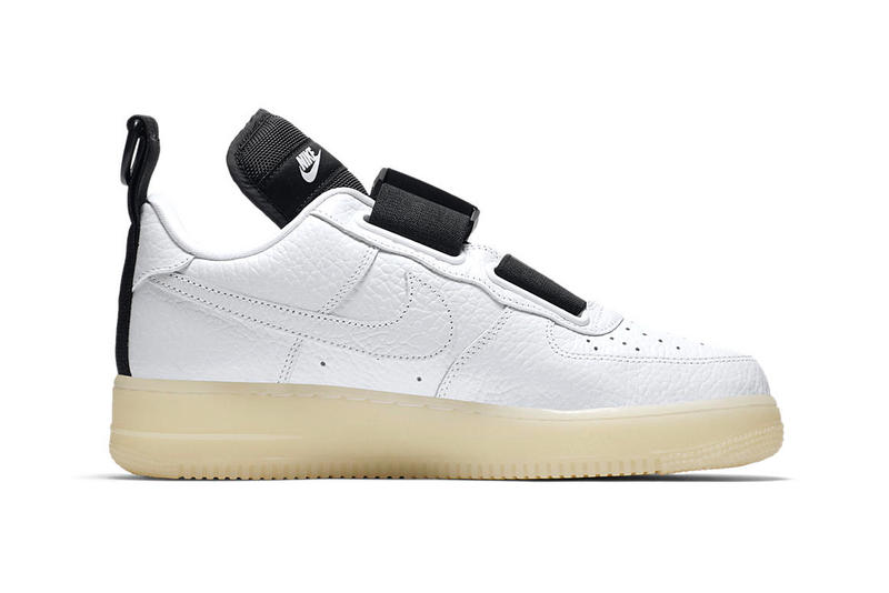 3bb7e91bb3 Nike Air Force 1 Utility QS Glow-in-the-Dark sole sneaker colorway
