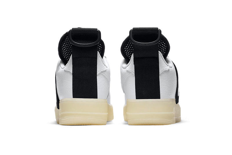 Nike Air Force 1 Utility QS Glow-in-the-Dark sole sneaker colorway white black release date price info
