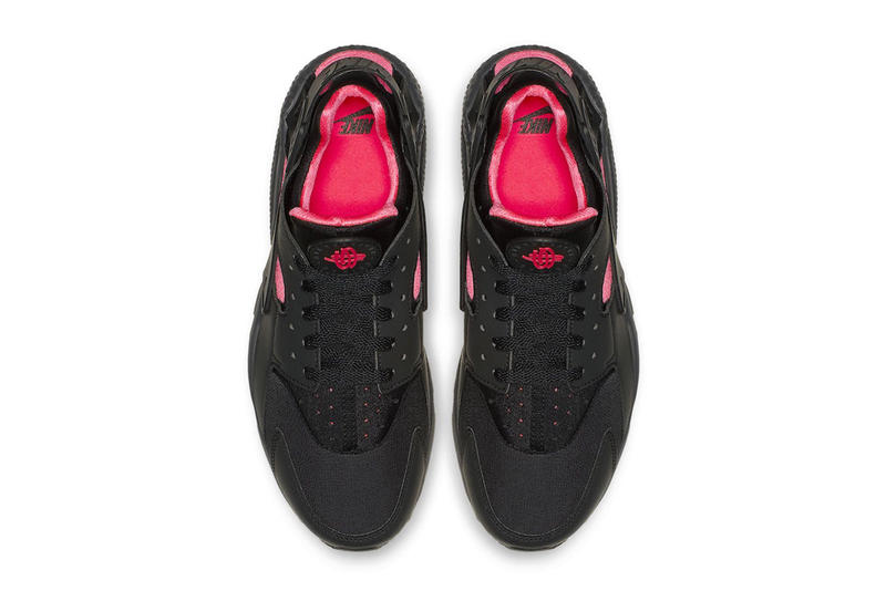 "Nike Air Huarache ""Black/Sun Red"" ""Blink"" Release Date black red price sneaker colorway"