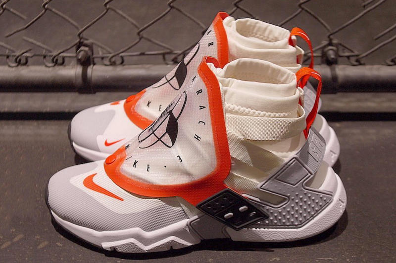 promo code 86ec8 fff99 Nike Air Huarache Grip release info sneakers Sail Team Orange White Wolf  Grey Black Olive Canvas