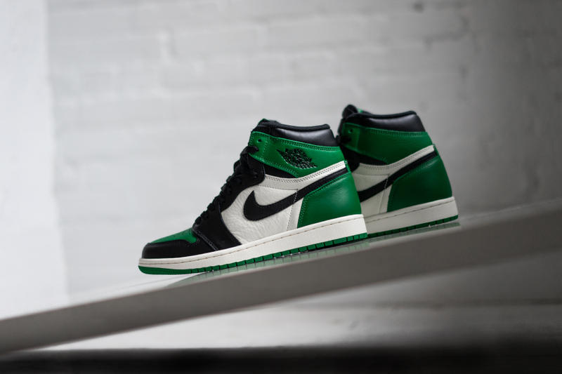 9f9888e6292831 air jordan 1 pine green jordan brand 2018 september footwear