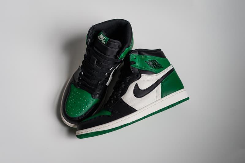 de1973a21d9499 air jordan 1 pine green jordan brand 2018 september footwear