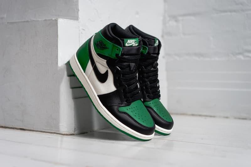 5abeb5156780a0 air jordan 1 pine green jordan brand 2018 september footwear. 6 of 8