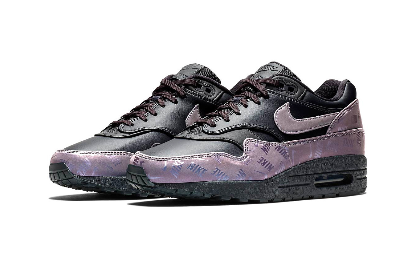 Nike Air Max 1 Black \u0026 Iridescent
