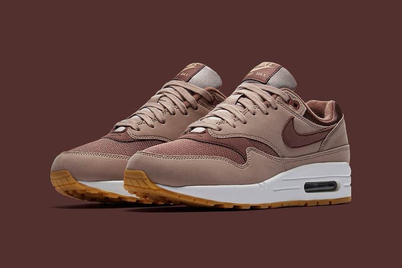 """Nike Air Max 1 """"Diffused Taupe"""" Brown Gray Rose"""