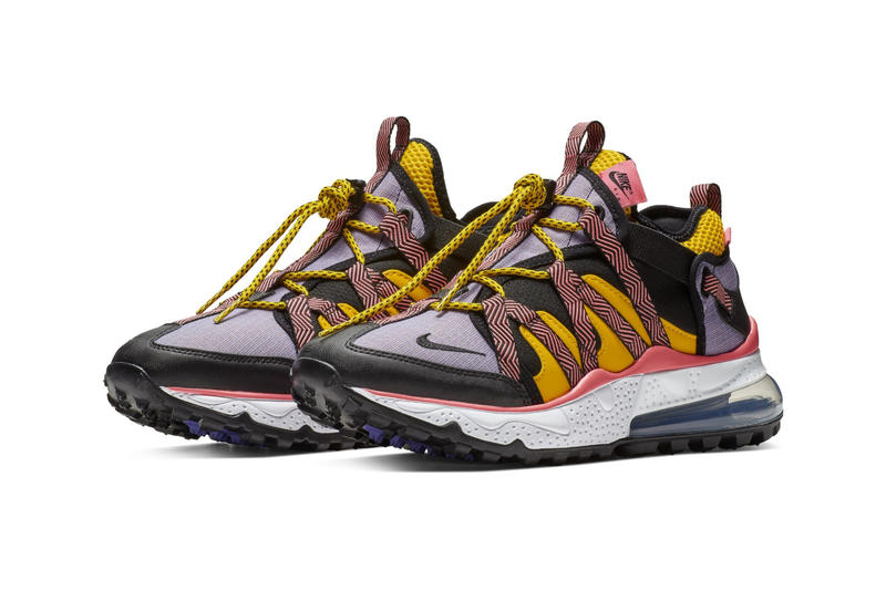 Nike Air Max 270 Bowfin New Purple Colorway sneaker release date info price purchase violet yellow pink