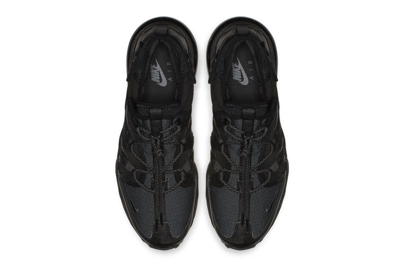 b1ab71d5f68f Nike Air Max 270 Bowfin Triple Black fall 2018 release sneakers