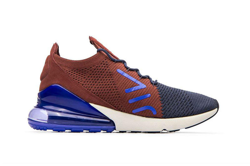 Nike Air Max 270 Flyknit Thunder Blue Release Air Max 180 Air Max 93 AM93 Sneakers Shoes Kicks Footwear style dress streetwear trainers